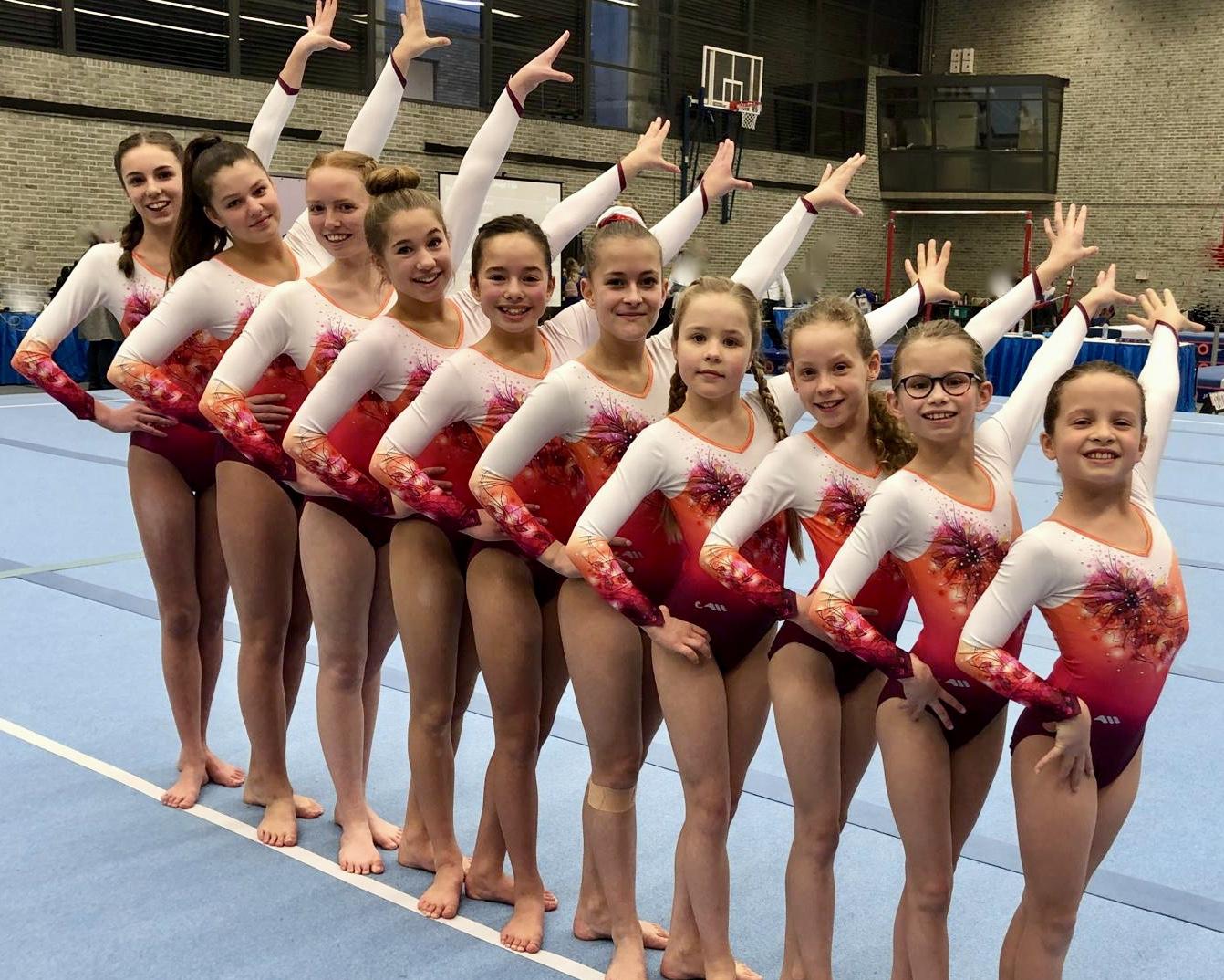 2e/3e Divisie Dames 2019